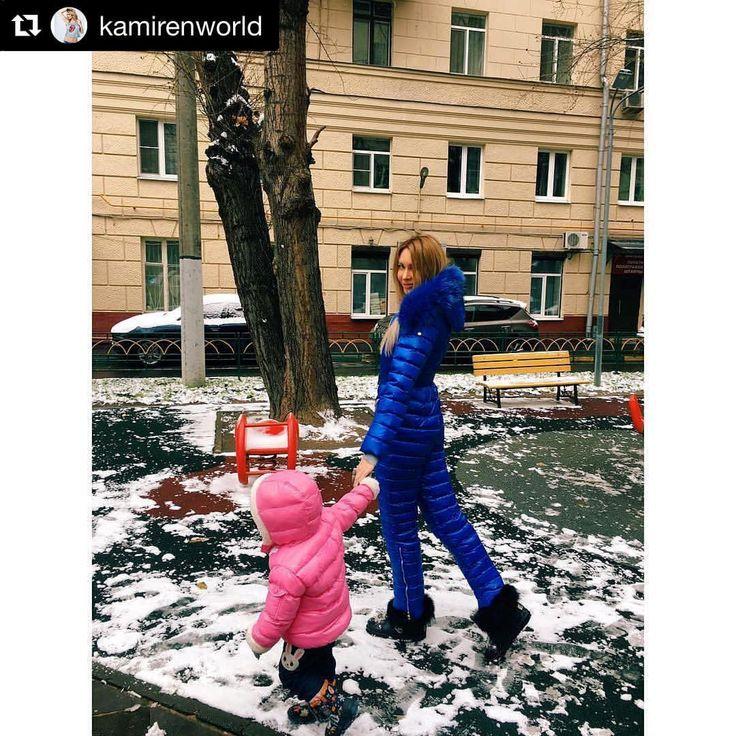 Элина Камирен  в комбинезоне Conso wear #Repost @kamirenworld with @repostapp ・・・ Александра любит гулять, в любую погоду, несколько раз в день❄️ Мы как #fashiongirl выбираем одежду в которой тепло, комфортно, она должна быть лёгкая, что б было удобно бегать, прыгать лазить и конечно, красивой #lux  @consowear радует новой коллекцией, соответсвует моим запросам как мамочки и человека, любящего комфорт Реккомендую Принцесса ждёт свой костюмчик, своего размера Мы к холодам готовы...