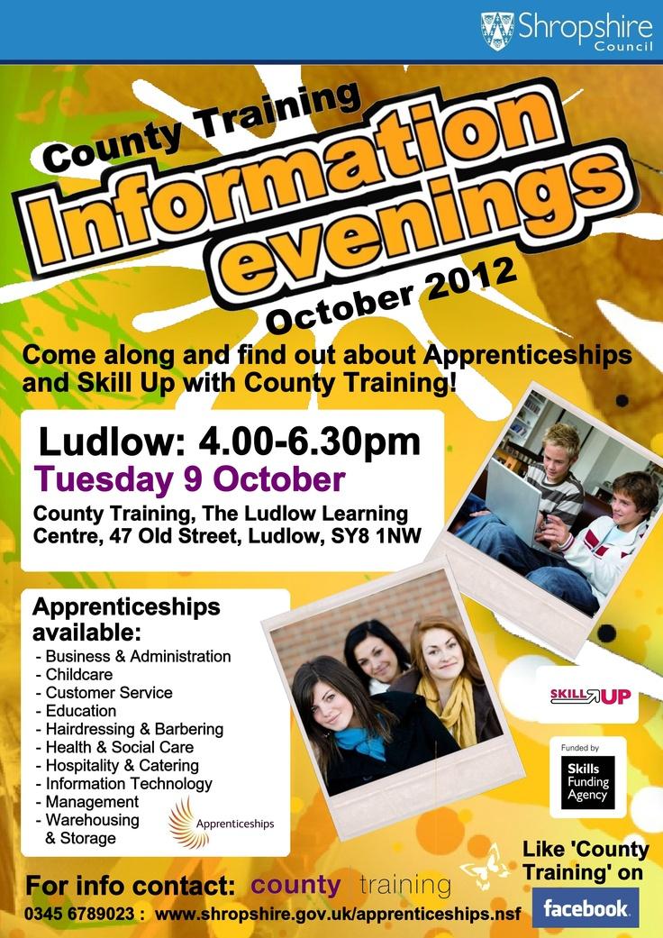 Information Evening - Ludlow