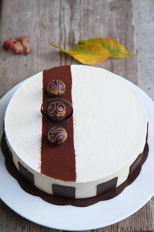 Gourmet Baking: Winter Cleaning Part III: Chocolate-Coffee-Rum Entremet