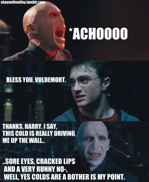 harry potter jokes really dirty | Funny pics and fun stuff :D: Voldemort's runny nose