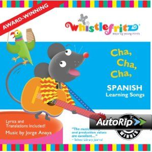 Cha, Cha, Cha -- Spanish Learning Son...  Order at http://www.amazon.com/Spanish-Learning-Songs-Canciones-Infantiles/dp/B003SJGS6K/ref=zg_bs_289122_21?tag=bestmacros-20