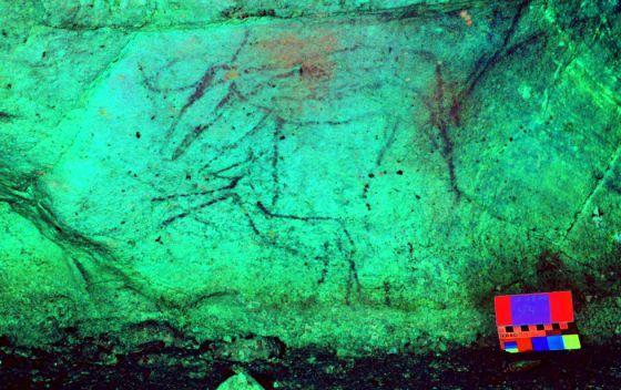 Una cueva de Lugo ocultaba las únicas pinturas rupestres de Galicia