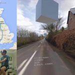 Un homme parcourt lAngleterre en vélo dappartement avec un casque VR et Google Street View