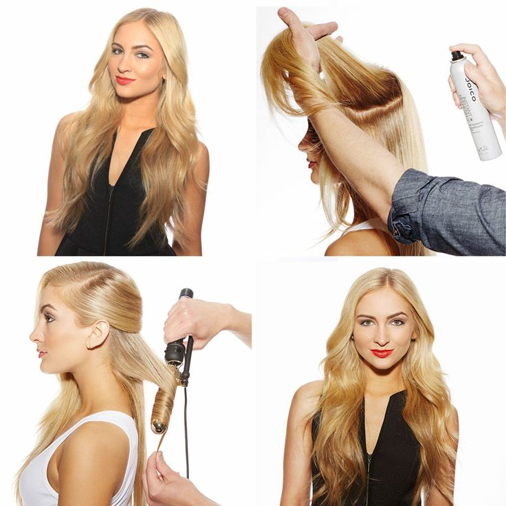 A sexy summer hairstyle that eases you into evening…but looks like it came straight from shore. Click to get the how-to.