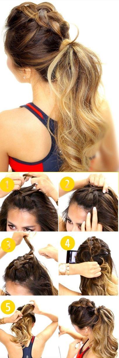 13 Peinados para conservar el glamour en el gimnasio ⋮ Es la moda