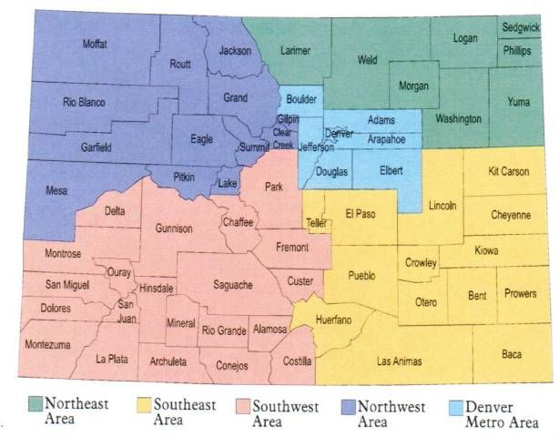 Colorado county and region map, this site gave a list of local farms according to county's. I even found new local farms we are going to try out this summer.