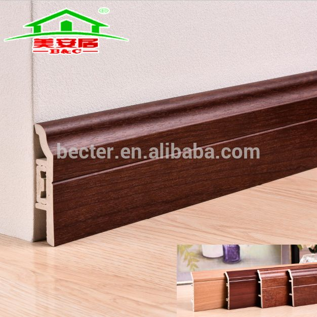 Factory Price Sale Mobile Home Wooden Floor Skirting Pvc Skirting Board