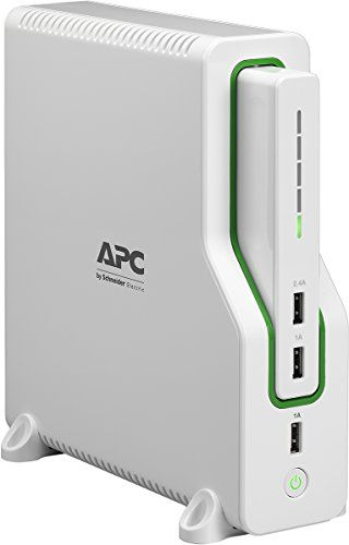 APC Back-UPS Connect Lithium Ion UPS with Mobile Power Pack, USB Charging Ports for Echo and Network Routers (BGE50ML)  2+ hours of network backup and surge protection power keeps you connected to the internet during storms and outages  Convenient mobile charging via three USB ports, including a smart charging port that recognizes connected devices to maximize charging speed  Removable Lithium-Ion battery pack charges a smartphone five times before needing to recharge itself  When li-i...