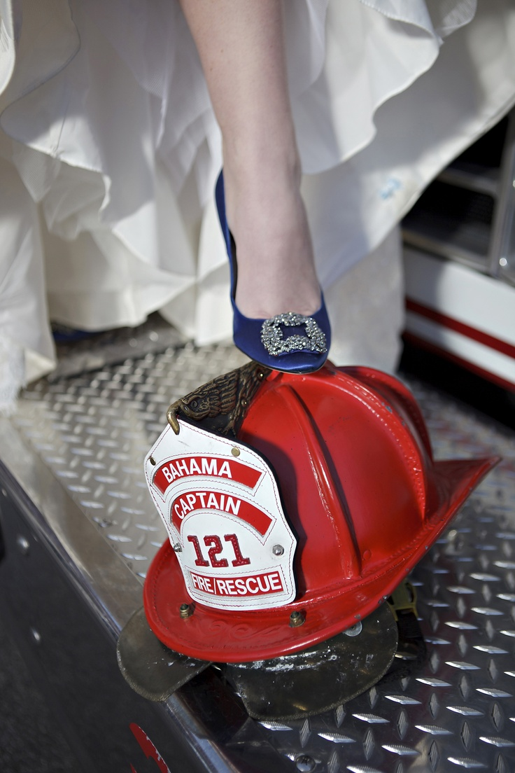 Find This Pin And More On Firefighter Wedding Poses