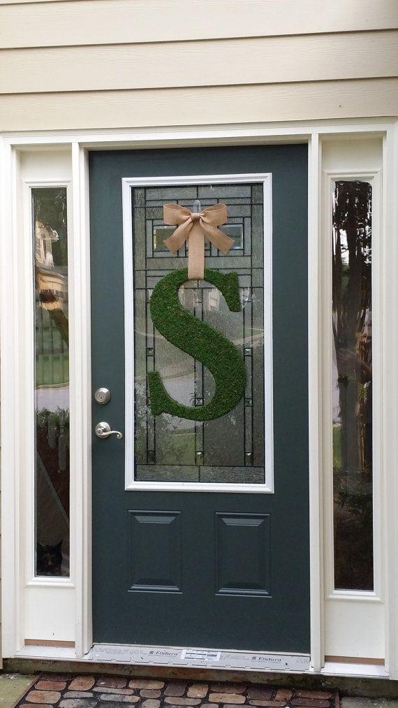 25+ unique Front door letters ideas on Pinterest | Letter ...