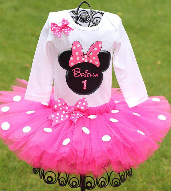 Minnie mouse first birthday outfit fast ship minnie mouse birthday