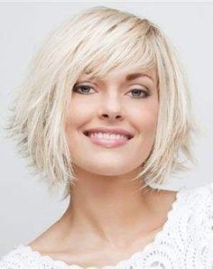 modèle coiffure cheveux courts fins et raides coiffures