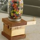 Here is an idea that has you both building and enjoying a delicious snack for the afternoon! Yep, thats right, a JELLY BEAN DISPENSER! (also works for M&Ms.) Sorry about ...