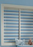 How cool are these multi-color aluminum blinds.  Perfect for nurseries.  The come cordless also to protect your little sweeties!