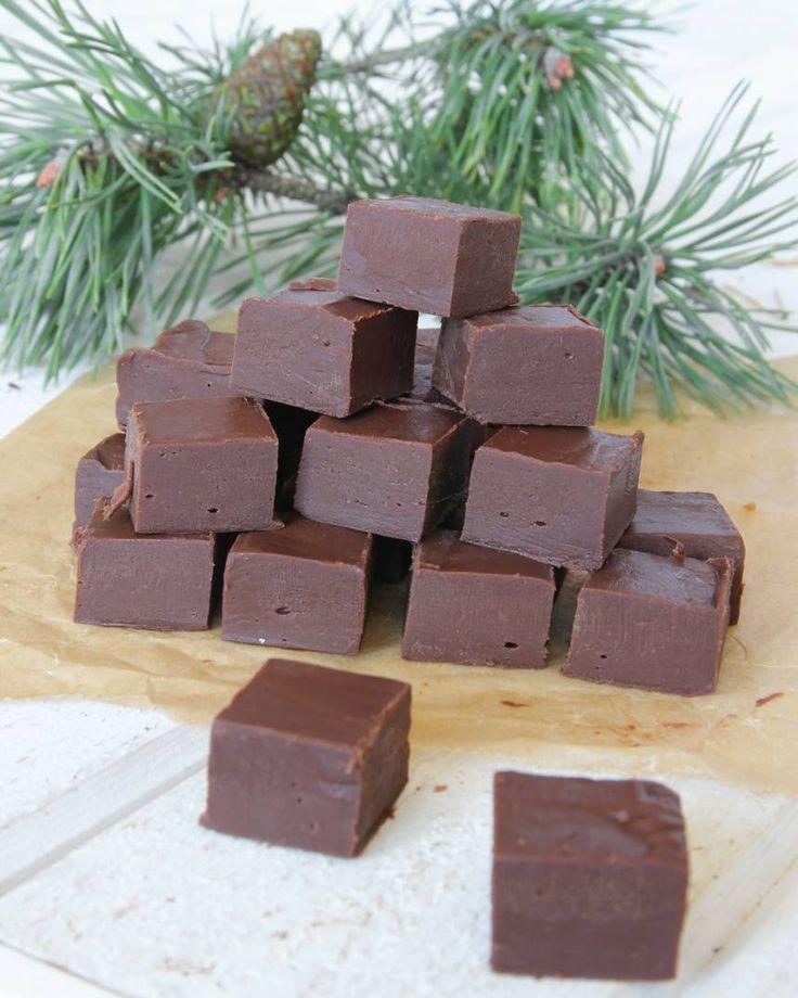 5-minuters chokladfudge