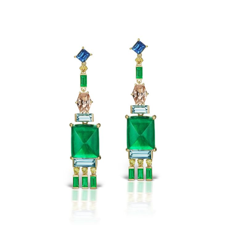 Shiny, Happy Gifts for Shiny, Happy People: Shiny parcels are always a pleasure to unwrap. Find the best sparkling, shining holiday gift ideas here. Jane Taylor earrings, $132,000, janetaylor.com.-Wmag