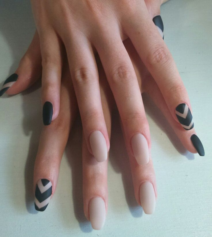 Bio Sculpture matte black and nude