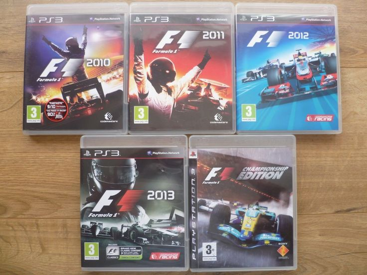 #Playstation 3 formula 1 game #bundle 2010 - 2013 and championship ps3 #games,  View more on the LINK: 	http://www.zeppy.io/product/gb/2/222312822779/