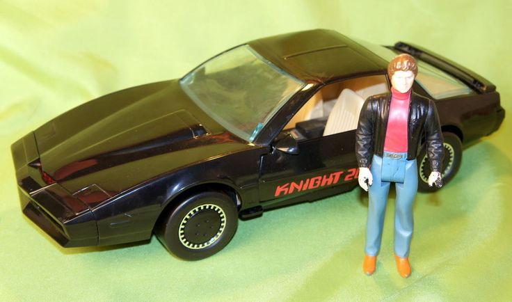 Kenner Knight Rider Knight 2000 Talking KITT with Michael Knight Tested! WORKS! #Kenner