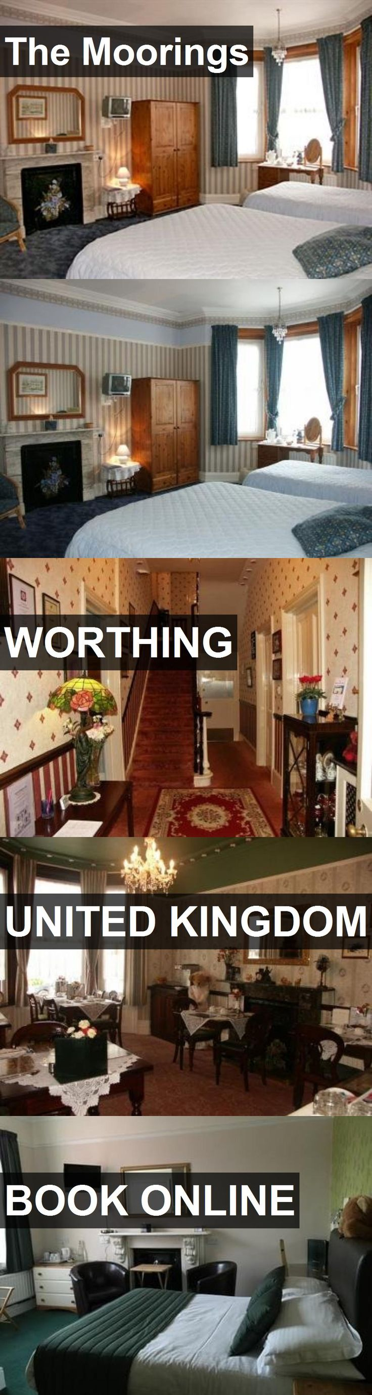 Hotel The Moorings in Worthing, United Kingdom. For more information, photos, reviews and best prices please follow the link. #UnitedKingdom #Worthing #TheMoorings #hotel #travel #vacation