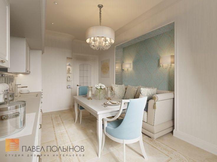 Фото: Интерьер кухни - Интерьер двухкомнатной квартиры в ЖК «Классика», 75 кв.м.