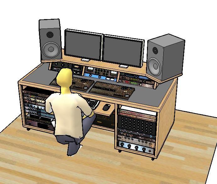 Stupendous 17 Best Ideas About Studio Desk On Pinterest Design Desk Office Largest Home Design Picture Inspirations Pitcheantrous