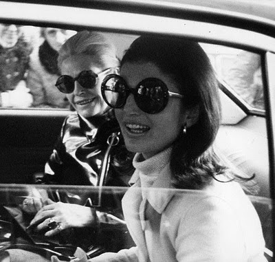 Jackie O's iconic oversized sunglasses.