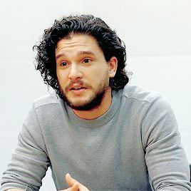 Kit Harington's smile // For Mencap •