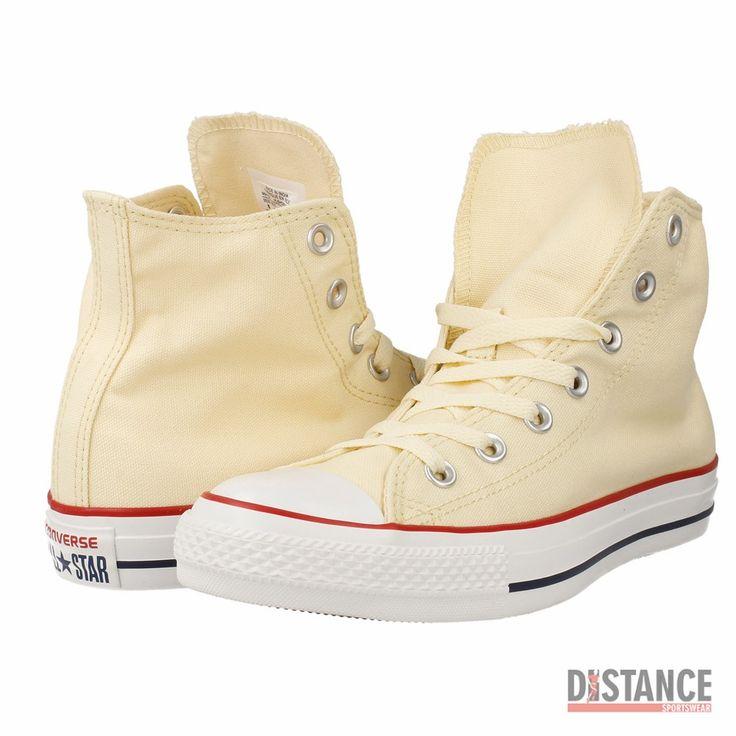 Buty Converse All Star Hi Natural Whit – Cena 189 zł • buty beżowe, białe, żółte • OryginalneButy.pl