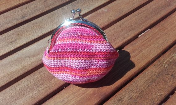 Capri Crochet Purse by BessFlowerPots on Etsy