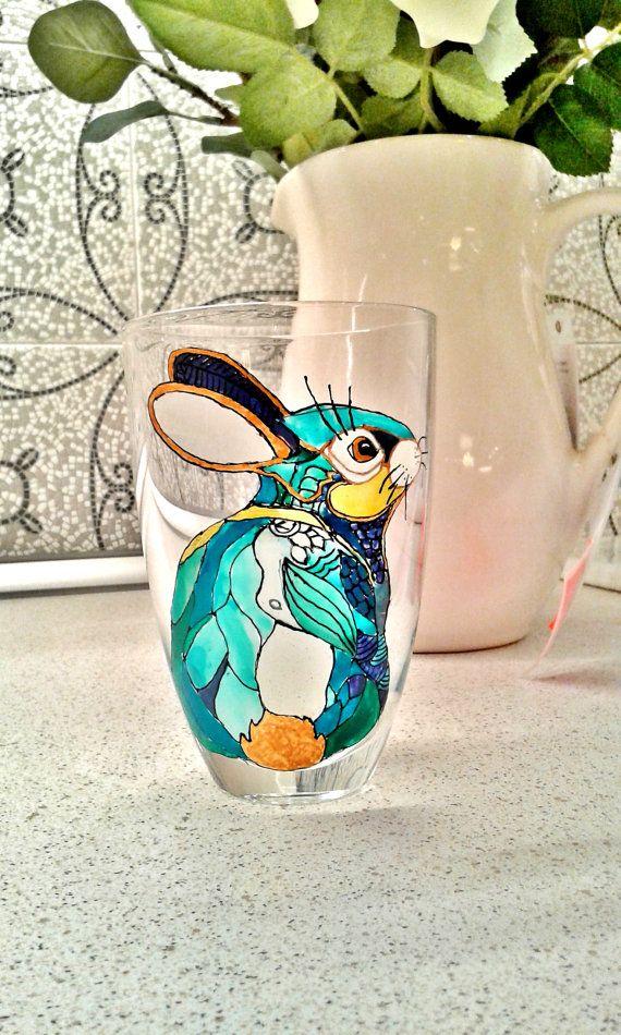 Подружек невесты подарки кролик stemless вино купить DecorationGlassware