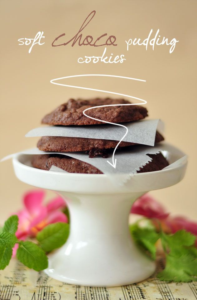 SHELIKES - a blog about food & happiness: Soft Choco Pudding Cookies