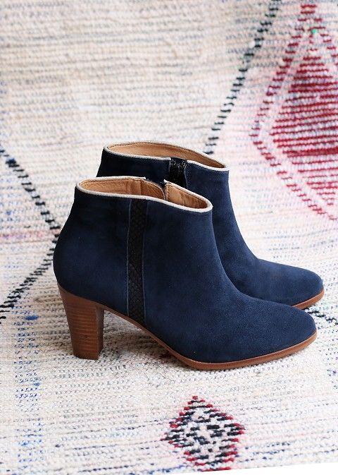 Sézane / Morgane Sézalory - Dakota boots - Collection spring 2014 Taroudant www.sezane.com