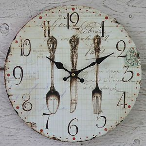 I would love this clock for my kitchen.....