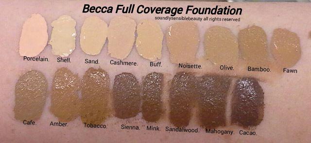 Becca Ultimate Coverage Complexion Creme Foundation