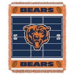 Chicago Bears Baby Blanket Bedding Throw 36 x 46