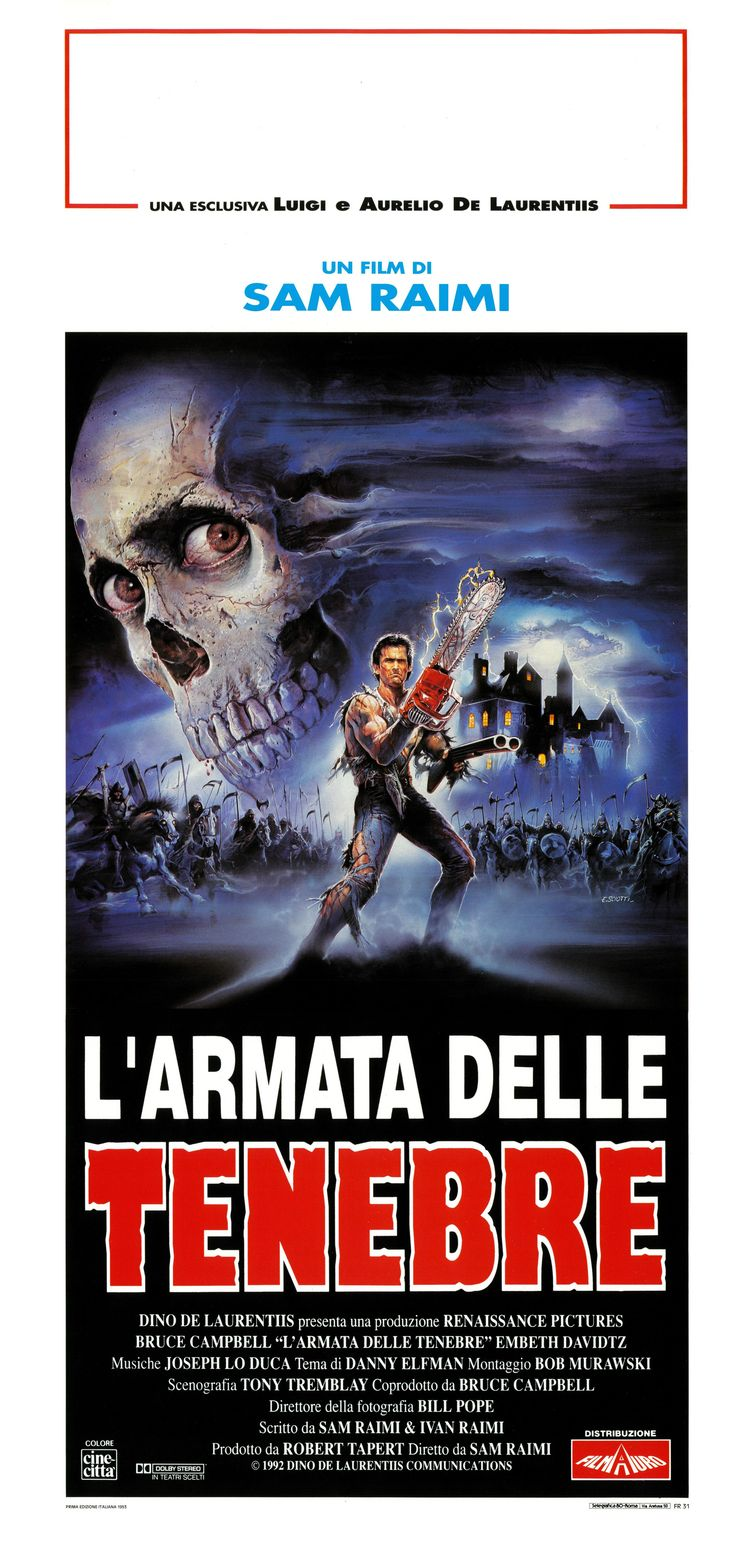 Army of Darkness (1992) via Italy
