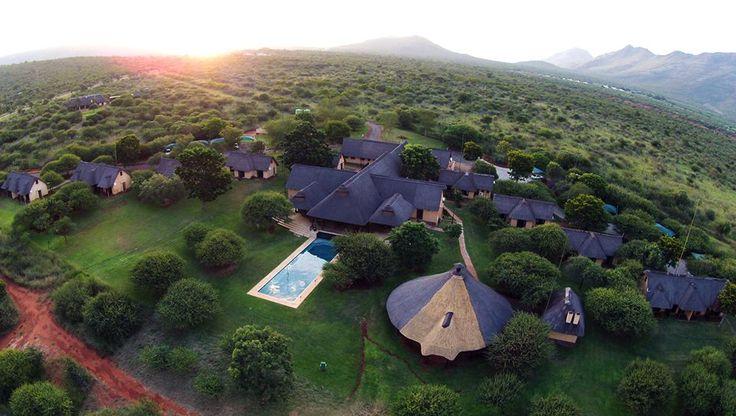 Lapeng Guest Lodge - Wedding Venue #lodge #wedding #aerial #nature