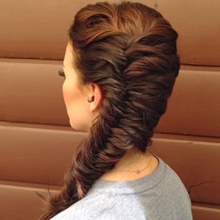 Fishtail Hairstyle Entrancing 176 Best Hair Images On Pinterest  Cute Hairstyles Hairstyle Ideas
