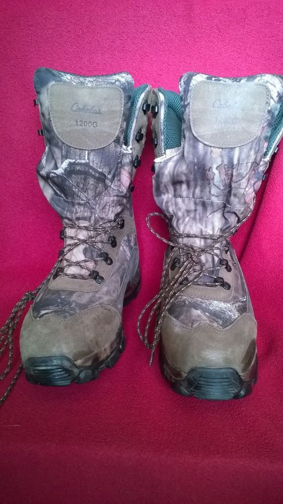 0efc81d8815fb CABELA'S BOOTS GORE-TEX HUNTING CAMO HIKING THINSULATE ULTRA WINTER 1200G  sz 12D #fashion #clothing #shoes #accessories #mensshoes #boots (ebay link)