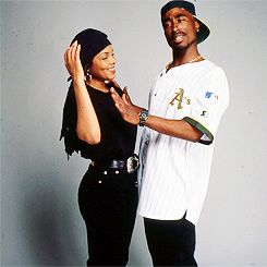 Janet Jackson and Tupac Shakur for Poetic Justice. (1993)