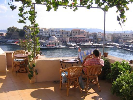 Chania Port, Crete, Greece