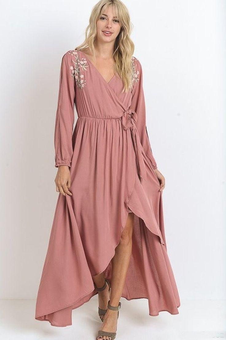 """""""Georgie"""" Maxi Dress"""