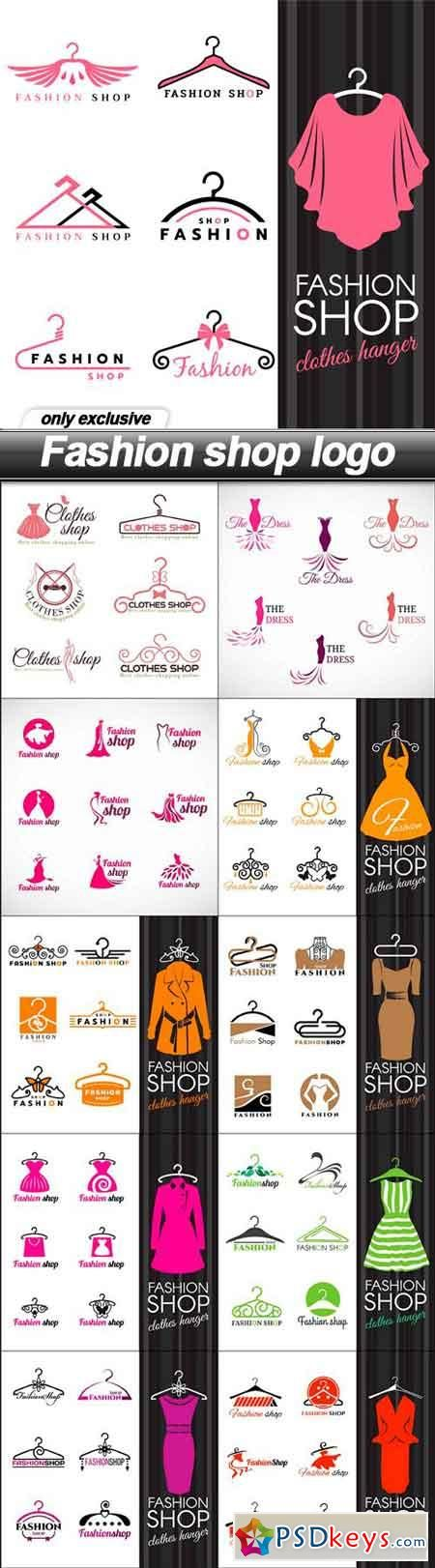 Fashion shop logo - 11 EPS