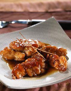 Recette Croustillants de ris de veau aux asperges : 1- La veille : Préparer les ris de veau : les faire dégorger à l'eau courante, les placer dans une cas...