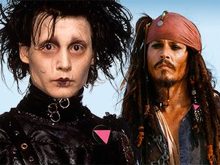Johnny Depp says 'All my characters are gay.' Yes, but HOW gay? | PopWatch | EW.com  Lol so funny