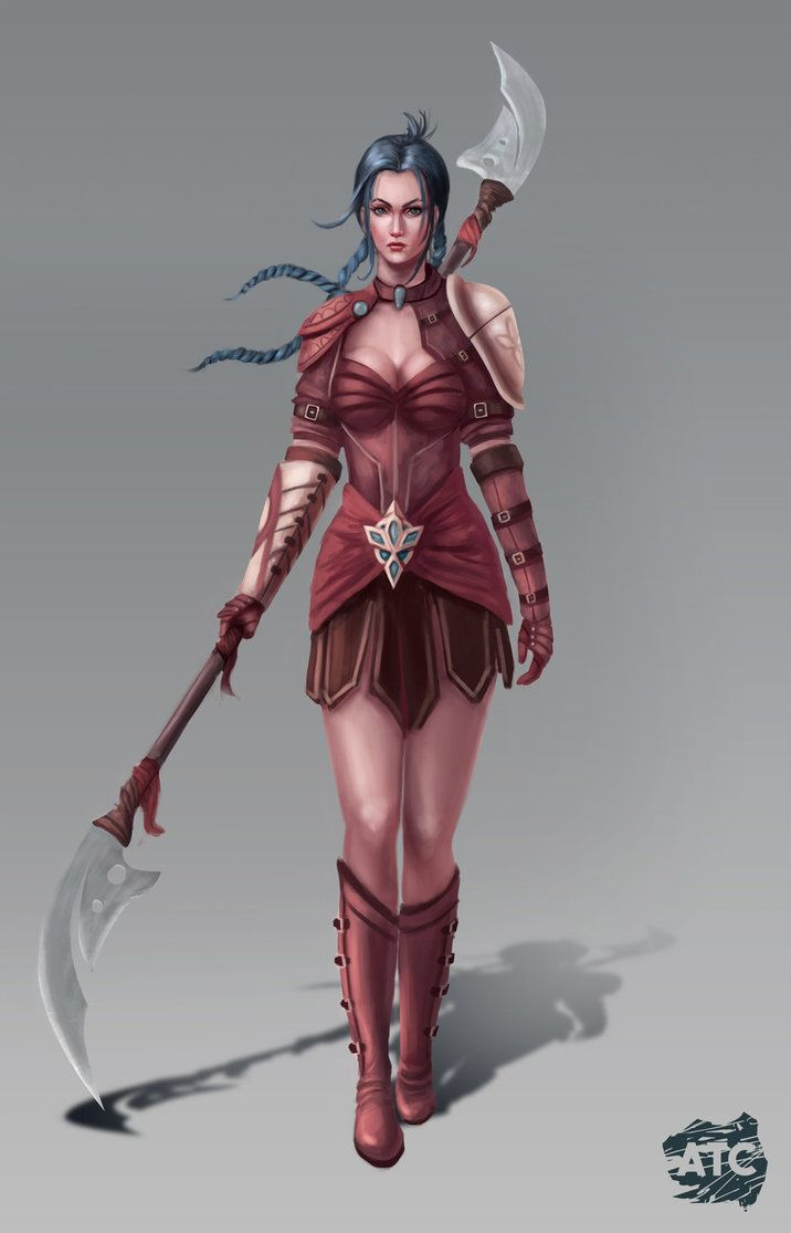 Clients: Artistic Justice Games & J.L. Clark Character illustration of Dina, a character from Avalon Relics, which is a novel series written by J.L. Clark who collaborated with Artistic Justice...