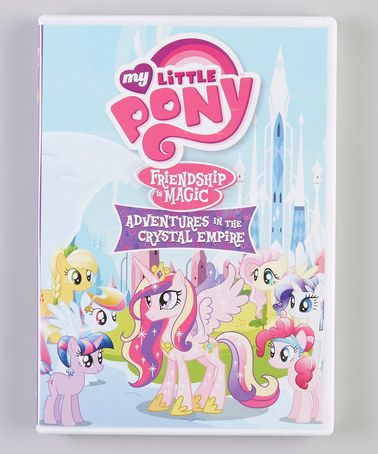 Take a look at this My Little Pony Friendship Is Magic: Adventure in the Crystal Empire on #zulily today!