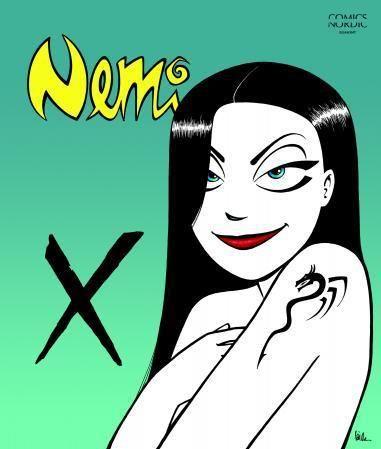 """""""Nemi - X"""" av Lise Myhre"""