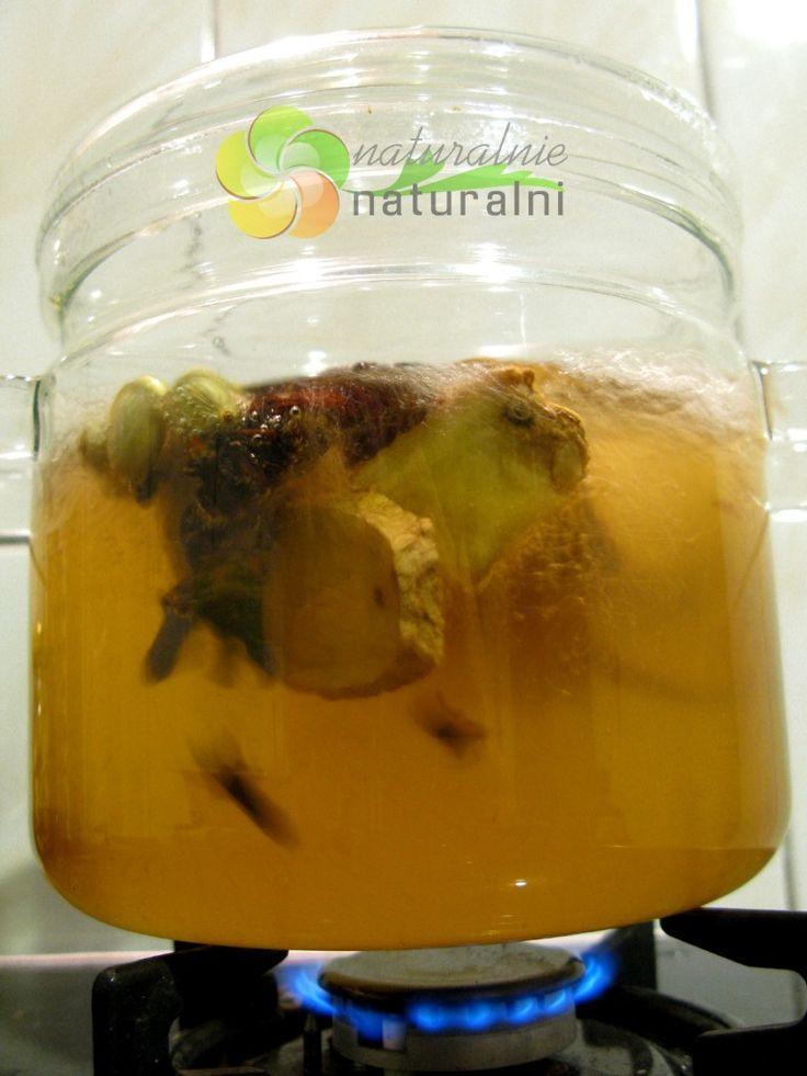 szybki sposob na przeziębienie leczenie domowymi sposobami naturalny antybiotyk przepis szklane garnki naturalnie naturalni